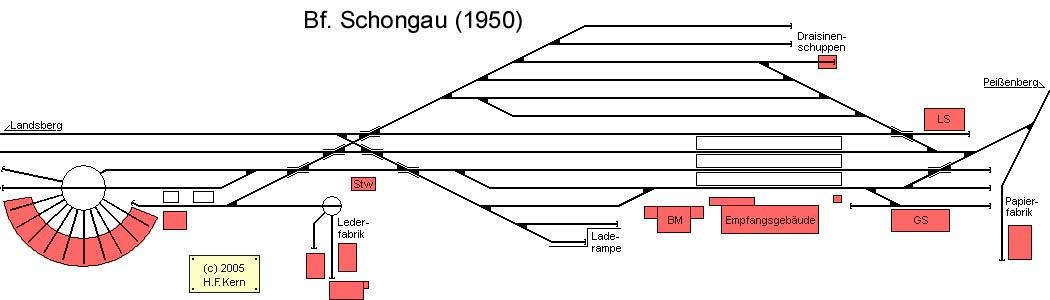 Vorbild Bahnhof Schongau